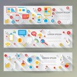 Flaches Design Lizenzfreie Stockfotos