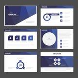 Flaches Design abstrakter purpurroter Darstellungsschablonen Infographic-Elemente stellte für Marketing der Broschürenflieger-Bro Stockbilder