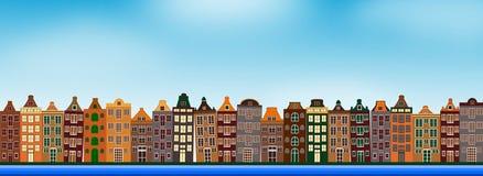 Flaches Design Netherland lizenzfreie abbildung