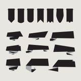 Flaches Design von Aufklebern Lizenzfreies Stockbild
