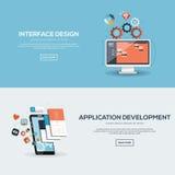 Flaches Designillustrationskonzept Lizenzfreie Stockfotos