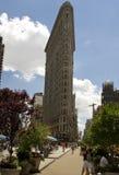 Flaches Eisen, das New York errichtet Lizenzfreies Stockfoto