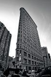 Flaches Eisengebäude in Manhattan New York City Lizenzfreie Stockfotografie