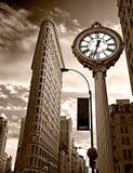 Flaches Eisengebäude. NYC. Stockbilder