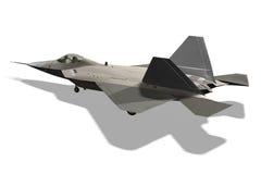 Flaches Flugzeug Stockbild