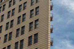 Flaches Gebäude Stockfoto
