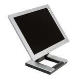 Flaches LCD-Überwachungsgerät Stockbild