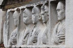 Flachrelief auf Appian-Art Lizenzfreies Stockbild