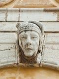 Flachrelief auf der Fassade Lizenzfreies Stockbild