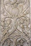 Flachreliefs auf der Fassade der Kathedrale von Spol Lizenzfreie Stockbilder