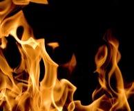 Flackernde Flamme Lizenzfreies Stockfoto