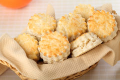 Flacky Biscuits Royalty Free Stock Photos