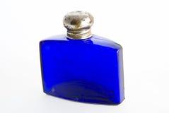 Flacon bleu Image stock