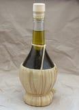Flacon d'huile d'olive Photographie stock libre de droits