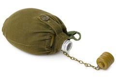 Flacon de soldat Image libre de droits