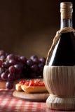 Flacon de vin image stock