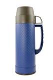 Flacon thermo bleu photos stock