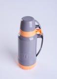 Flacon thermo ou thermo sur un fond image libre de droits
