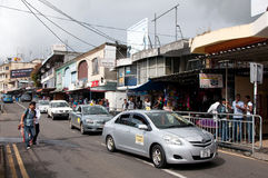Flacq city centre, Mauritius Stock Photography