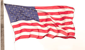 Fladdra flaggan Royaltyfri Bild
