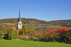 Fladungen,Rhoen,Germany Royalty Free Stock Photos