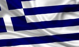 flag Греция Стоковые Фото