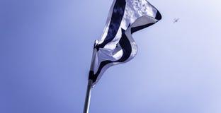 flag Израиль Стоковое Фото
