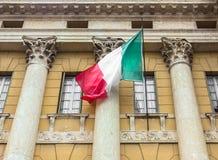 flag итальянка Стоковые Фото