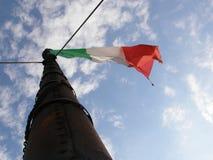 flag итальянка Стоковое фото RF