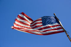 flag мы Стоковая Фотография RF