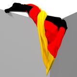 flag немец иллюстрация штока