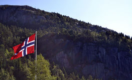 flag Норвегия Стоковая Фотография RF