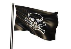 flag пират Стоковые Изображения RF