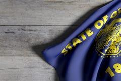 flag положение Орегона Стоковое фото RF