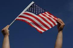 flag США Стоковая Фотография