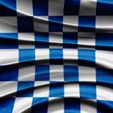 flag участвовать в гонке Стоковая Фотография