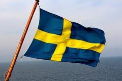 flag шведские языки стоковое фото