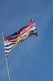 Flag. Province of British Columbia Flag Stock Photos