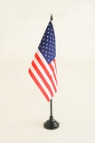 Flag. The US Flag against a white background Stock Photography