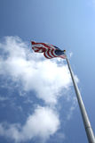 Flag. Photo of the american flag royalty free stock photo