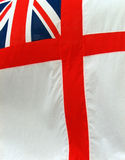 Flag. The British NAVY flag Royalty Free Stock Photos