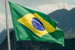 Flag. Brazilian Flag stock images