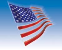 Flag. American flag stock illustration