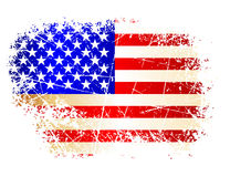 Flag. This illustration can be used for your design Stock Photography