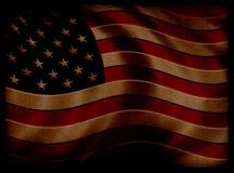 Flag. Grunge flag. Low Key vector illustration