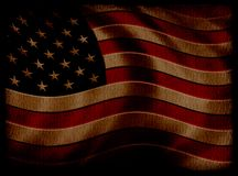 Flag. Grunge flag. Low Key Royalty Free Stock Photography