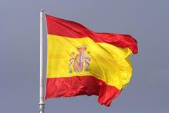 Flag. Spanish flag . Spain Stock Photos