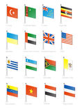 Flag Royalty Free Stock Photos