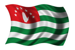 Flag of Abkhazia Stock Image