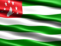 Flag of Abkhazia Royalty Free Stock Photography